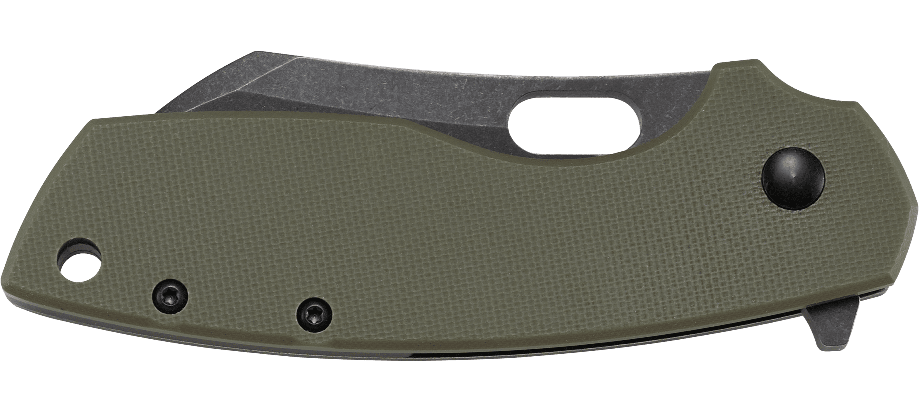 PILAR® LARGE OD GREEN WITH D2 BLADE STEEL