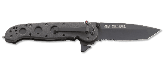 M16® - 14ZLEK TANTO LARGE WITH TRIPLE POINT™ SERRATIONS