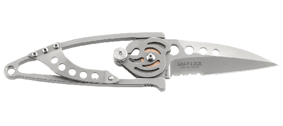SNAP LOCK™ WITH TRIPLE POINT™ SERRATIONS