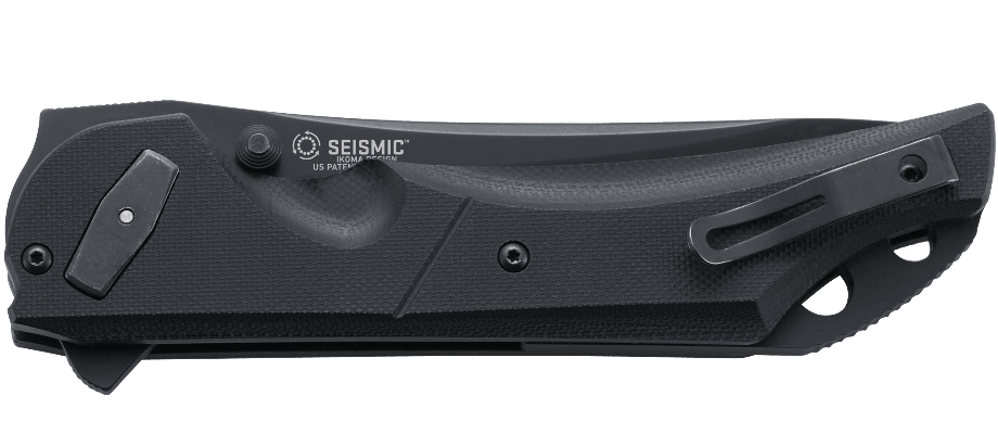 SEISMIC™ BLACK WITH VEFF SERRATIONS™
