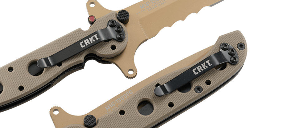 M16® - 13DSFG SPECIAL FORCES DESERT TANTO WITH VEFF SERRATIONS™