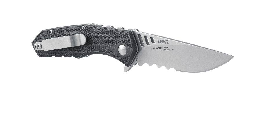 FOLLOW-THROUGH™ COMPACT WITH VEFF FLAT TOP SERRATIONS®