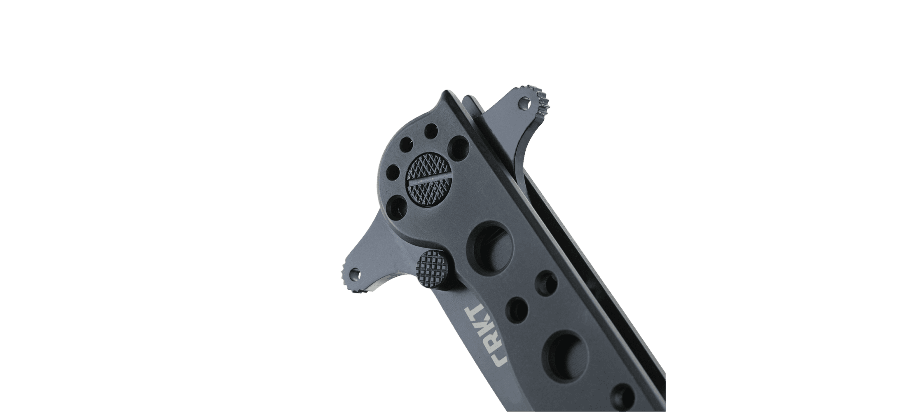 M16® - 10KSF TANTO BLACK WITH TRIPLE POINT™ SERRATIONS STAINLESS STEEL HANDLE
