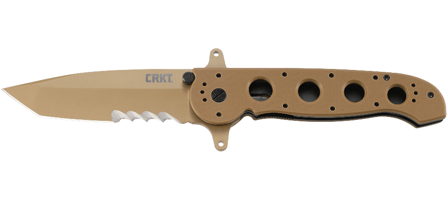 M16® - 14DSFG SPECIAL FORCES DESERT TANTO LARGE WITH VEFF SERRATIONS™