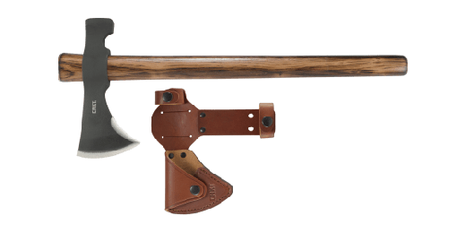 BLACK WOODS CHOGAN T-HAWK WITH SHEATH