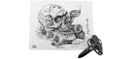 SOLD OUT - TECPATL™ w/LIMITED EDITION SKULL ILLUSTRATION