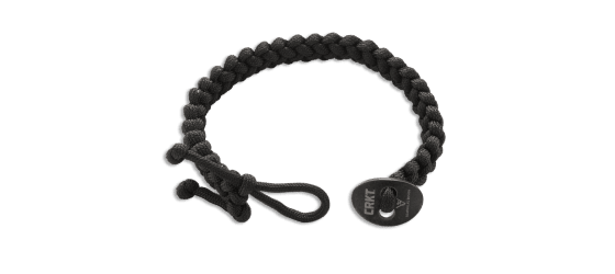 QUICK RELEASE PARACORD BRACELET - SMALL BLACK