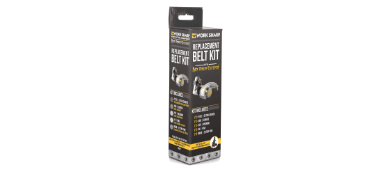 Work Sharp WSKTS-KO Extra Coarse Belt Kit - P120