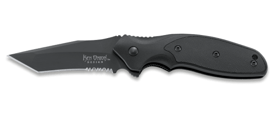 SHENANIGAN™ TANTO WITH TRIPLE POINT™ SERRATIONS